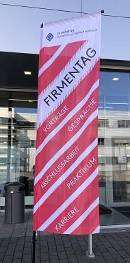 Firmentag FH Steinfurt Flagge