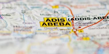 Hansa Luftbild: Kataster in Äthiopien